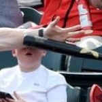 Dad Saves Kid From A Flying Bat